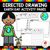 Directed Drawing Earth Day Activity Pages