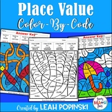 Place Value Worksheets - 3rd, 4th, 5th, Grades - Color by Number