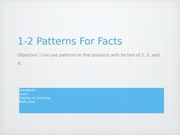 1-2 Patterns For Facts