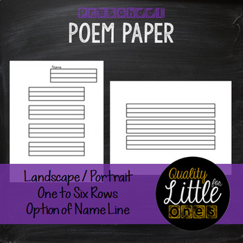 1.2 Penmanship/ Handwriting Practice, Lined Story / Poem Writing Paper