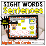 Boom Cards Sight Words Pre-primer Distance Learning
