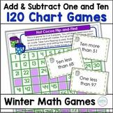 120 Chart Winter Games Missing Numbers Ten More Ten Less
