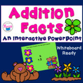 Addition Facts Digital Task Cards