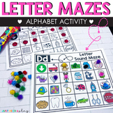 Alphabet Activities | Letter Sound Mazes