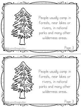 Camping Fun Fact Mini-Booklets