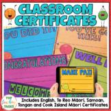 Classroom Certificates | Bright and Vivid Dot Dudes