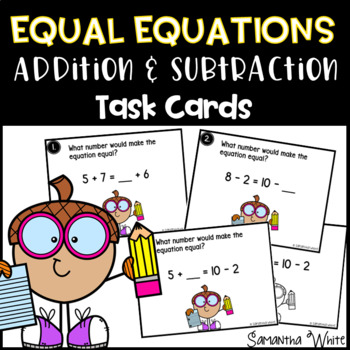 Equal Equations - Addition and Subtraction