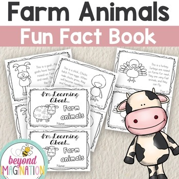 Farm Animals Fun Fact Mini-Booklets