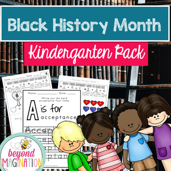 Black History Month Kindergarten