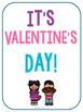 Valentine's Day Math and Literacy Centers Kindergarten