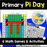 Pi Day Math Activities for Primary Grades