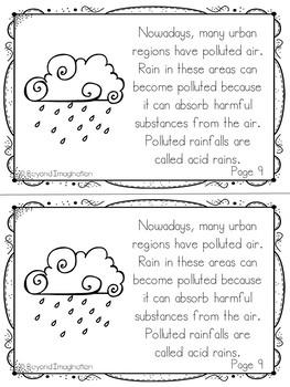 Rain Fun Fact Mini-Booklets
