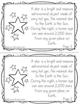 Space Fun Fact Mini-Booklets