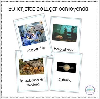 Spanish Character and Setting Cards for Writing