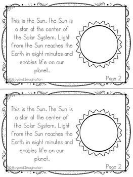 The Solar System Fun Fact Mini-Booklets