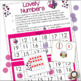 Valentine's Day Teen Numbers Math Center Activities