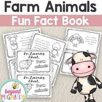 Zoo Animals Fun Fact Mini-Booklets