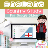 England Country Study for Google Slides Distance Learning
