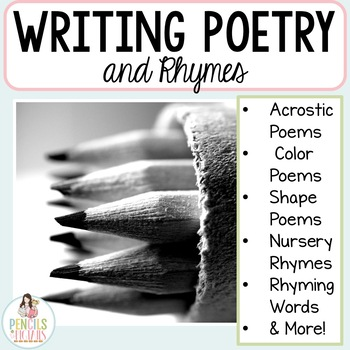 Writing Poetry and Rhyming Words - Study & Write Many Types of Poems!