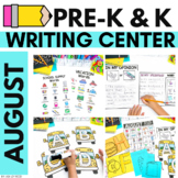 AUGUST/BACK TO SCHOOL Writing Center for Preschool and K