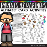 Distance Learning - ALPHABET FLASH CARD ACTIVITIES - Guide