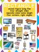 FLAT SHAPES BUNDLE – Posters, Photo Cards, Sorting Mat, Coloring, Cut & Paste