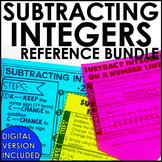 Subtracting Integers Posters