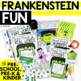 Halloween Centers for October - Frankenstein Fun - Prescho