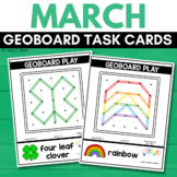 ST. PATRICK'S DAY Geoboard Task Cards STEM for MARCH