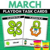 ST. PATRICK'S DAY Playdoh Mats for MARCH