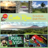 Six Costa Rica Headers for Google Classroom