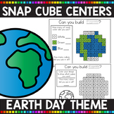 EARTH DAY THEMED Snap Cube Math Centers