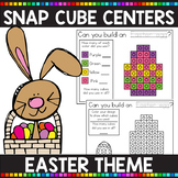 EASTER THEMED Snap Cube Math Centers