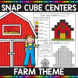 FARM THEMED Snap Cube Math Centers