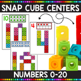 Number Snap Cube Mats for Numbers 0-20
