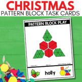 PATTERN BLOCK CHRISTMAS Task Cards for December