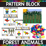 PATTERN BLOCK FOREST ANIMAL Task Cards