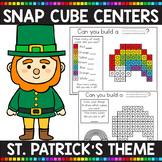 ST. PATRICK'S DAY THEMED Snap Cube Math Centers