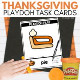 THANKSGIVING Playdoh Mats for November STEM