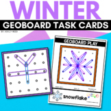 WINTER Geoboard Task Cards STEM
