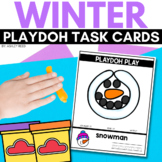 WINTER Playdoh Mats for Preschool or Kindergarten
