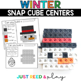 WINTER THEMED Snap Cube Math Centers