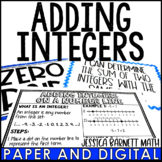 Adding Integers Posters