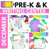 DECEMBER Writing Center for Pre-K and K | CHRISTMAS