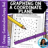 Graphing On a Coordinate Plane Cross Curricular Cross Out 6.NS.C.6