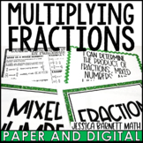 Multiplying Fractions Posters