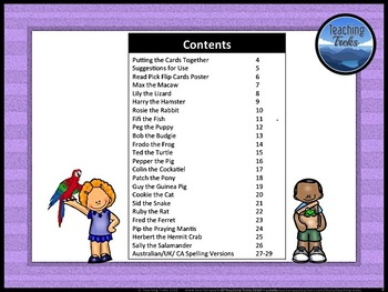 Pets Theme: Reading Comprehension Passages and Questions