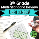 8th Grade Math Review Activity