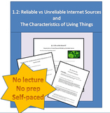 1.2 Reliable vs Unreliable Internet Sources and the Charac
