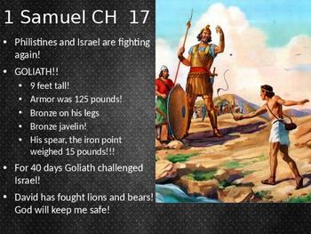 1+2 Samuel Power Point walk through